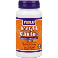 NOW - Carnitine 500mg - 60 kaps