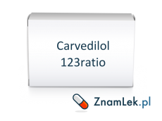 Carvedilol 123ratio