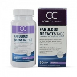 CC Fabulous Breasts Tablets, 90 tabl