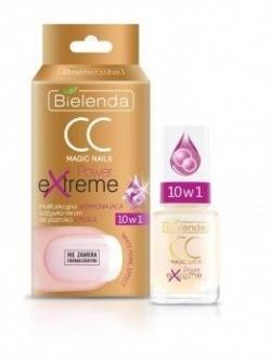 CC MAGIC NAILS POWER EXTREME 10w1 Multifunkcyjna WZMACNIAJĄCA odżywka – serum do paznokci Z PERŁĄ