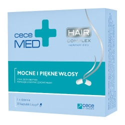 Cece Med Hair complex, 30 kapsułek