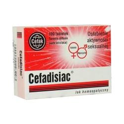 Cefadisiac 100 tabletek