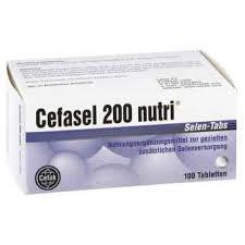 Cefasel 200 nutri, tabletki, selen tabs, 20 szt