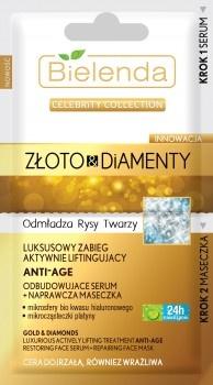 Celebrity Collection Złoto & Diamenty Luksusowy zabieg aktywnie liftingujący
