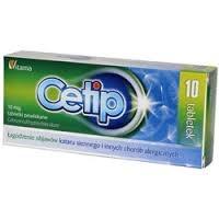 Cetip,10 mg, tabletki powlekane, 10 szt
