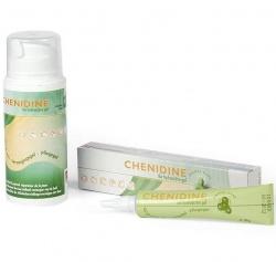CHENIDINE ® żel hydroaktywny wspomagający gojenie ran, tuba 20g, pojemnik 100g