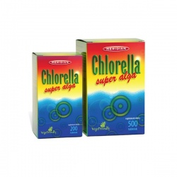 Chlorella - super alga, 200 tabletek