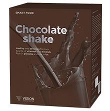 Chocolate Shake - koktajl czekoladowy (Vision) smart food,  14 saszetek po 23g
