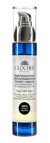 Clochee, krem odmładzająco-regenerujący, na noc, 50 ml