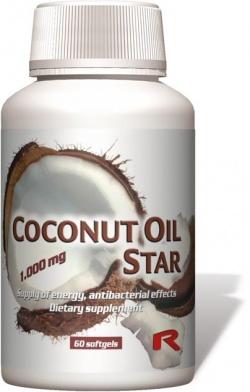 COCONUT OIL STAR Starlife - grzybice, odporność, 50 kapsułek