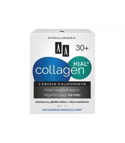 Aa Collagen Hial+ krem wygładzająco-regenerujący na noc, 50 ml