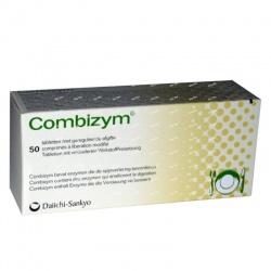 Combizym, 50 tabletek powlekanych