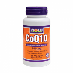 NOW - CoQ10 ( Koenzym Q10 ) 100 mg - 90  kaps