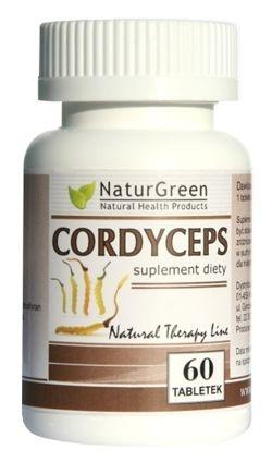Cordyceps, 60 tabletek NaturGreen