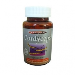 Cordyceps Meridian Borelioza Naturalny antybiotyk, 60 kapsułek
