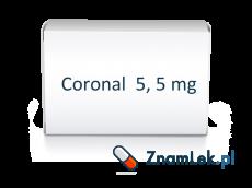 Coronal  5, 5 mg
