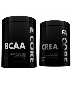 FITNESS AUTHORITY - CreaCore (Crea Core) - 350g + BCAACore (BCAA Core) - 350g