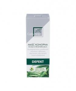 CutisHelp Maść konopna, do pielęgnacji skóry, kojąco-regenerujący, 50 ml