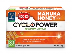 CycloPower, Miód Manuka MGO 400+ w tabletkach do ssania