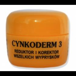Cynkoderm 3, reduktor, korektor wyprysków, 15 ml