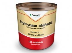 Cytryniec chiński - Schisandra chinensis, 180 tabletek