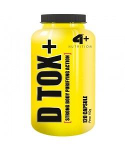 4+ NUTRITION - D TOX+ - 120kaps
