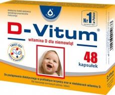 D-Vitum Witamina D dla niemowląt