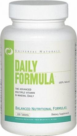 UNIVERSAL NUTRITION - Daily Formula - 100 tab