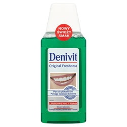 Denivit, Original Freshness, płyn do płukania jamy ustnej, 300 ml