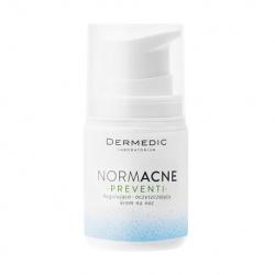 Dermedic Normacne Preventi regulujący i oczyszczający krem do twarzy na noc,55g