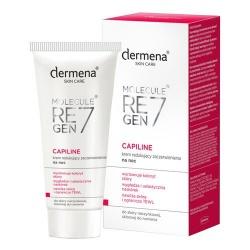 Dermena Capiline krem redukujący zaczerwienienia na noc do skóry naczynkowej skłonnej do rumienia, 50 ml