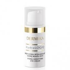 Dermika Hydralogiq 30+, krem hydra-wygładzający skórę wokół oczu, 15ml