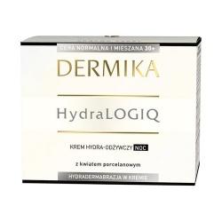 Dermika Hydralogiq 30+, krem hydra-odżywczy na noc, 50ml