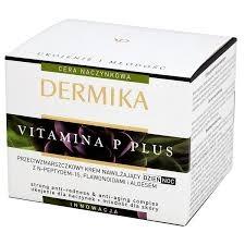Dermika Vitamina P Plus, krem przeciwzmarszczkowy