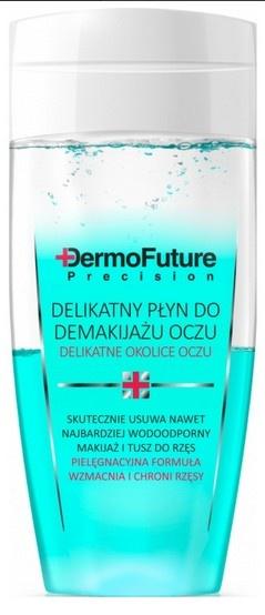 Dermo Future Delikatny dwufazowy płyn do demakijażu oczu, 150 ml