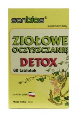 DETOX- ziołowe oczyszczanie - 60 tab