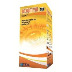 Dexoftyal MD, krople do oczu regenerujące, 15 ml