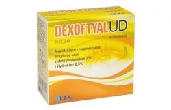 Dexoftyal UD, krople do oczu, 0,35 ml, 10 pojemników jednodawkowych