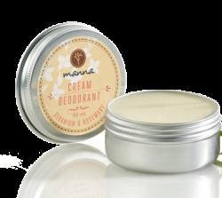 Dezodorant w kremie Geranium i Rozmaryn, 50 ml