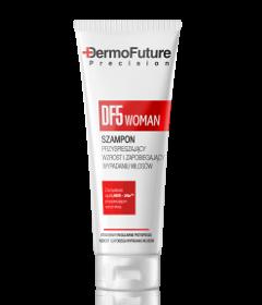Szampon przyspieszający wzrost i zapobiegający wypadaniu włosów DF5 Woman, 200 ml