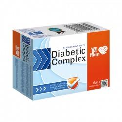 Diabetic Comlex, Wegafarm, 60 tabletek