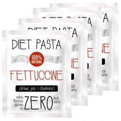 DIET FOOD - 4 x Makaron - Diet Fettuccine - 260g
