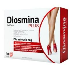 Diosmina Plus Colfarm, tabletki, 30 szt