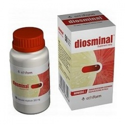 Diosminal, 50+10 kapsułek