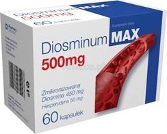 Diosminum Max 500mg, 60 tabletek