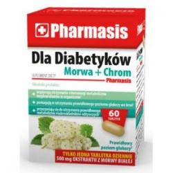 DLA DIABETYKÓW MORWA + CHROM, tabletki, 60 sztuk