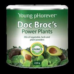 Doc Broc's - sproszkowane żywe warzywa, 220 g