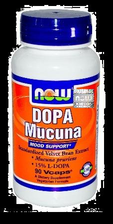 Dopa Mucuna, 90 kapsułek
