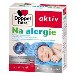 Doppelherz aktiv Na alergię, granulat, 21 saszetek