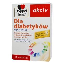 Doppelherz aktiv Dla Diabetyków, tabletki, 30 szt